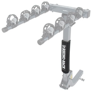 Rhino-Rack hitch-mounted bike rack padded mast