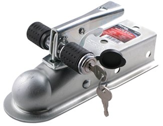 Trailer Coupler with Lock