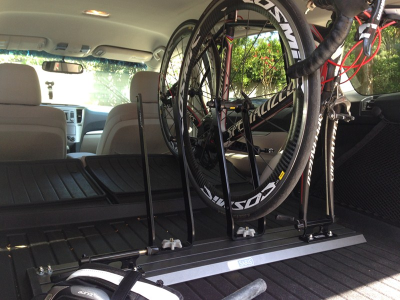 Saris Fork Mount Bike Carrier For Truck Beds Or Traps