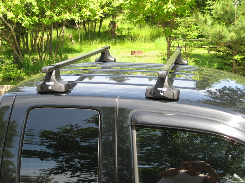 Thule Square Load Bars Steel 78 Quot Qty 2 Thule Roof