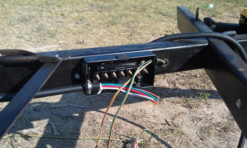 Rid R on Trailer Wiring Junction Box