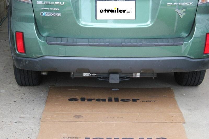 Hidden Hitch Trailer Hitch For Subaru Outback Wagon 2014