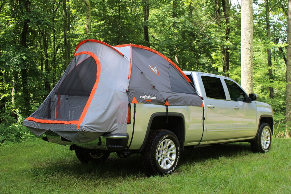 rightline truck bed tent waterproof sleeps 2 for 5. Black Bedroom Furniture Sets. Home Design Ideas