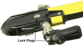 Euro PitchFork Yellow Lock Cores