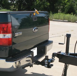 The Swift Hitch camera and monitor make it easy to hook-up your trailer