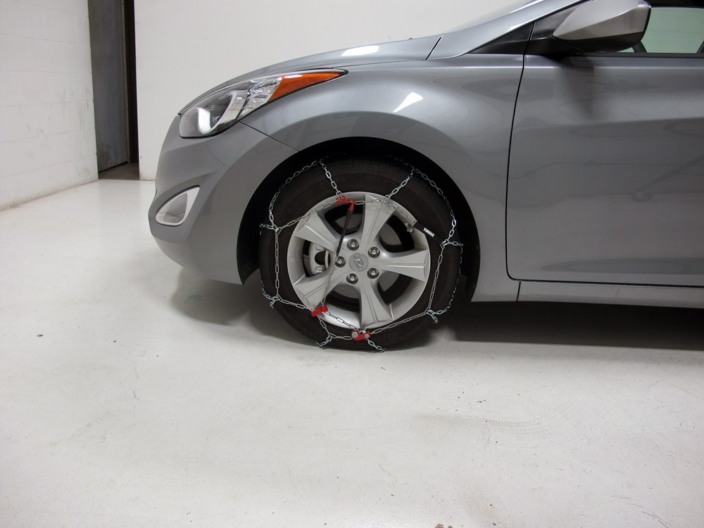 Thule Standard Snow Tire Chains Diamond Pattern D Link