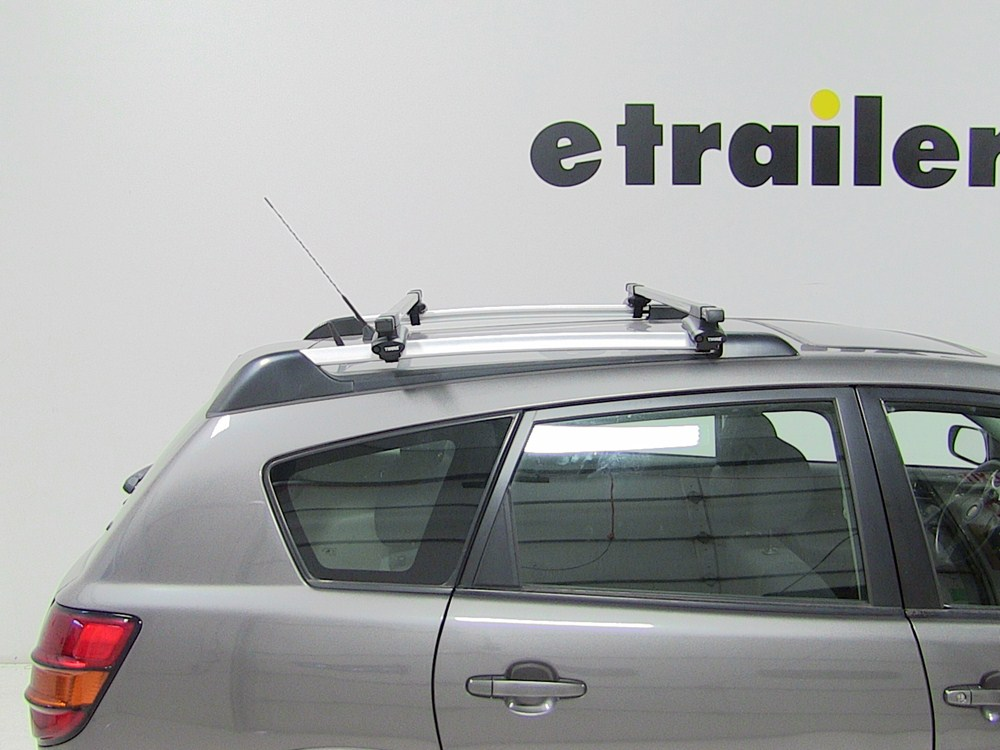 Thule Roof Rack For 2005 Vibe By Pontiac Etrailer Com
