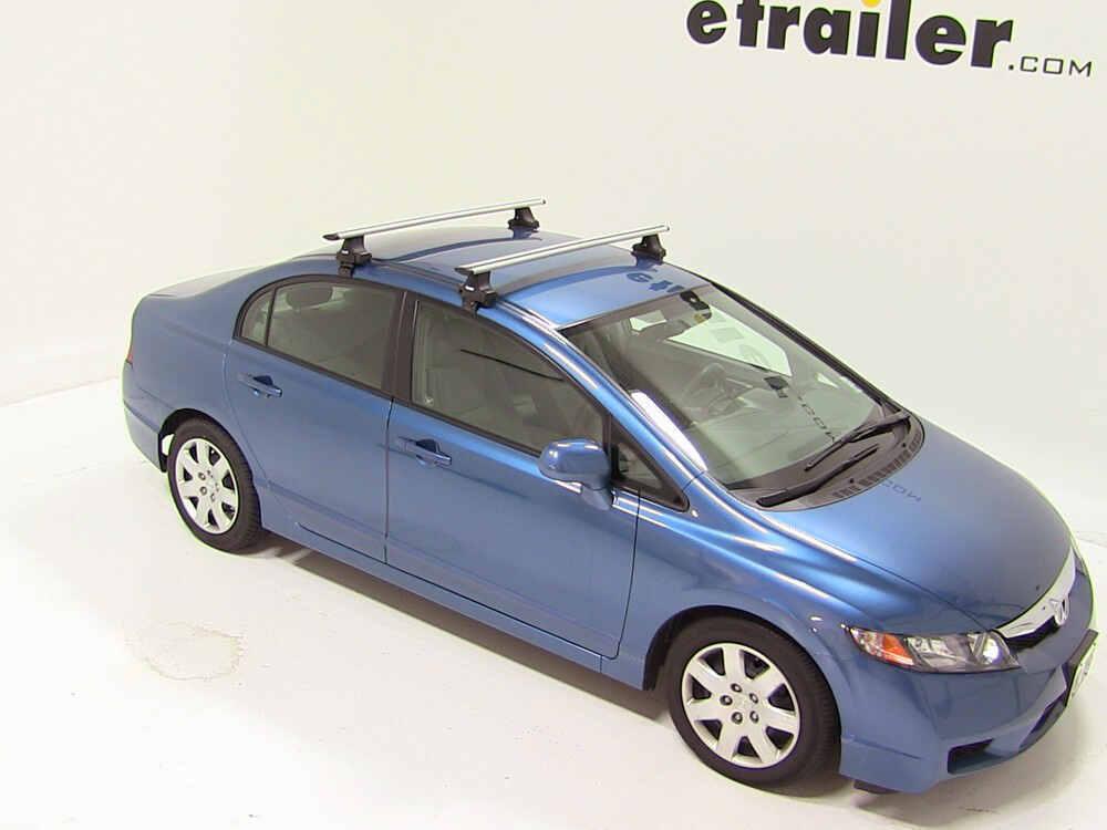 Thule Roof Rack For 2010 Honda Civic Etrailer Com