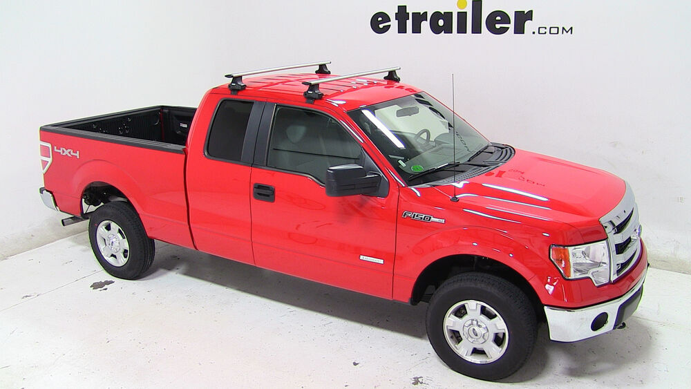 Installation Of A Thule Aeroblade Traverse Roof Rack On A  Thule Roof Rack for 2013 Ford F 150 | etrailer.com