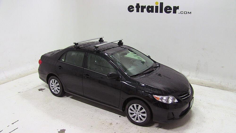Thule Roof Rack For 2013 Toyota Corolla Etrailer Com