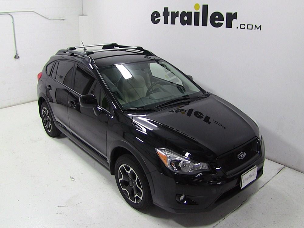 Thule Roof Rack For 2013 Subaru Xv Crosstrek Etrailer Com