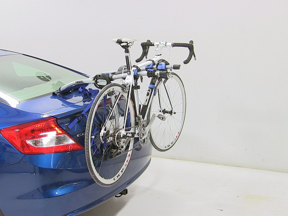 trunk bike racks   honda civic thule thxt