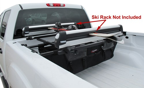 Homemade Truck Bed Snowboard Rack