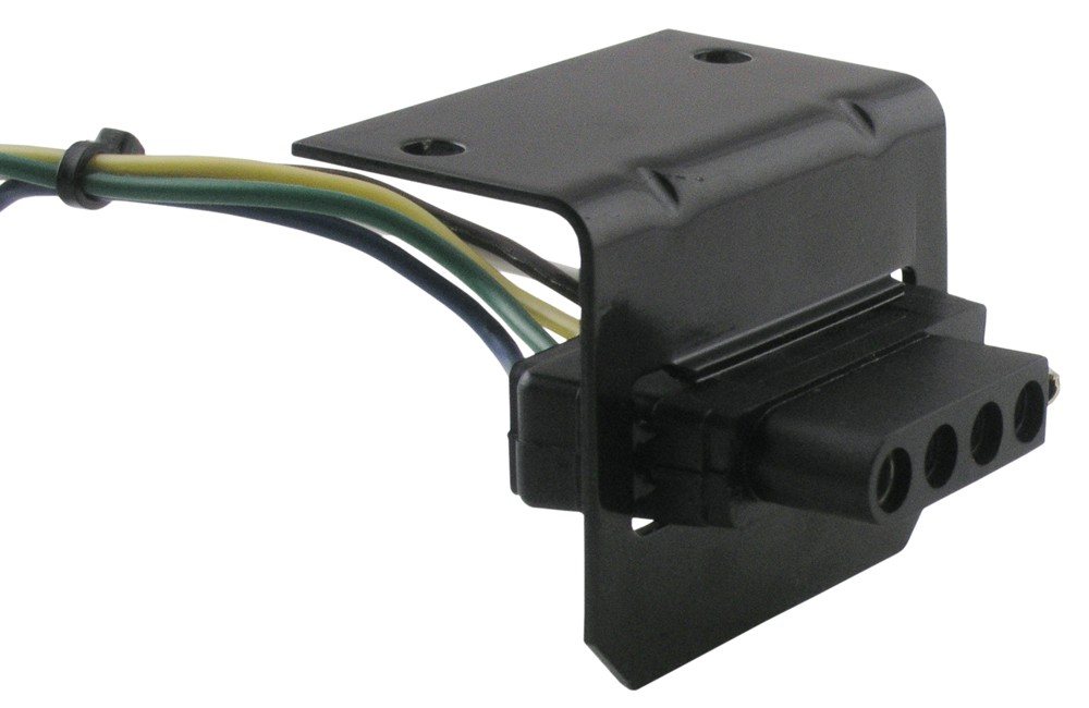 Tr20046 on trailer hitch wiring harness adapter