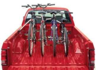 Bike Racks For Trucks Beds This pickup truck bed bike