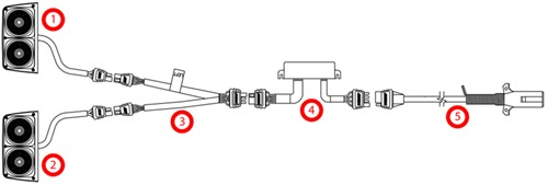 Wire Trailer Wiring Diagram On 5 Wire Round Trailer Harness