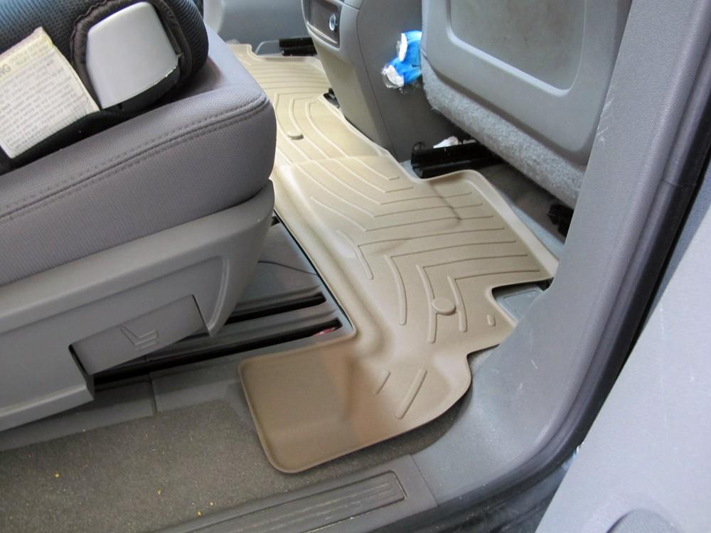 Weathertech Floor Mats For Chevrolet Traverse 2011 Wt451112