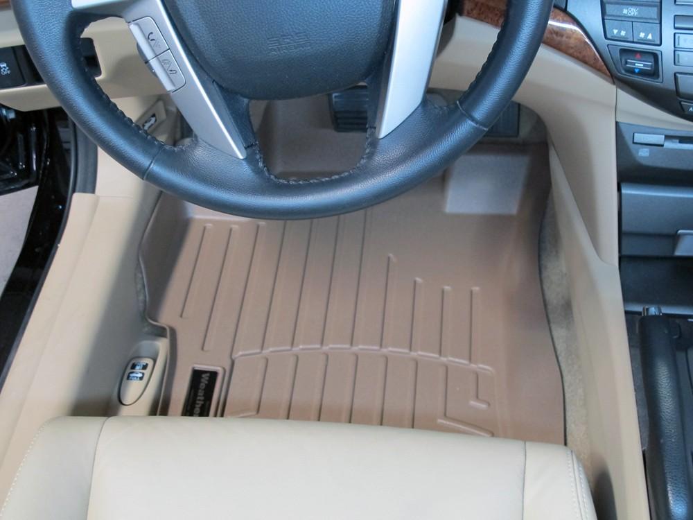 Weathertech floor mats for honda accord 2011 wt451481 for 1992 honda accord floor mats