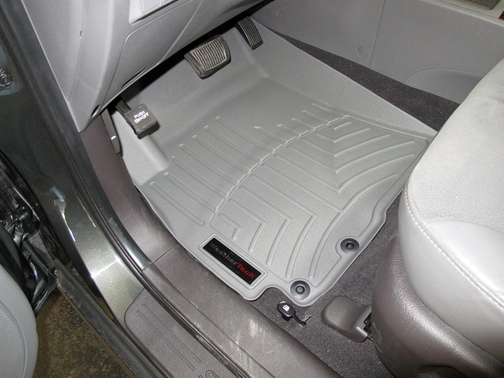 Weathertech Floor Mats For Hyundai Santa Fe 2010 Wt462981