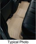 WeatherTech 2nd Row Rear Auto Floor Mat - Tan