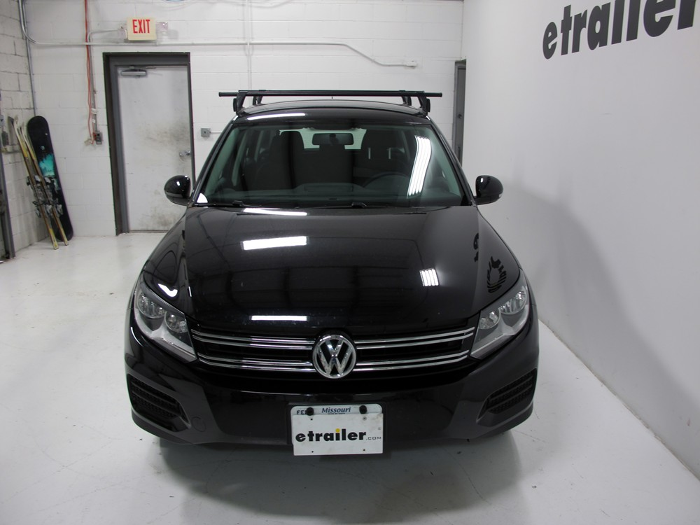 yakima roof rack for 2012 tiguan by volkswagen. Black Bedroom Furniture Sets. Home Design Ideas