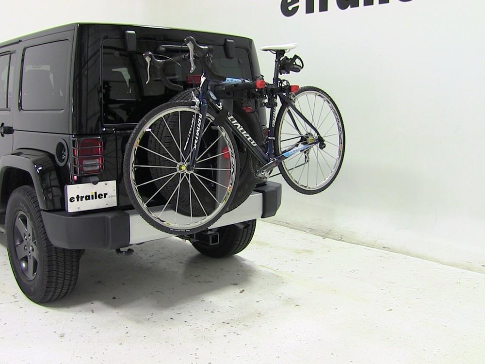 yakima spare tire bike racks for jeep wrangler unlimited. Black Bedroom Furniture Sets. Home Design Ideas