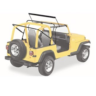 highlighted view of YJ sunrider hardware