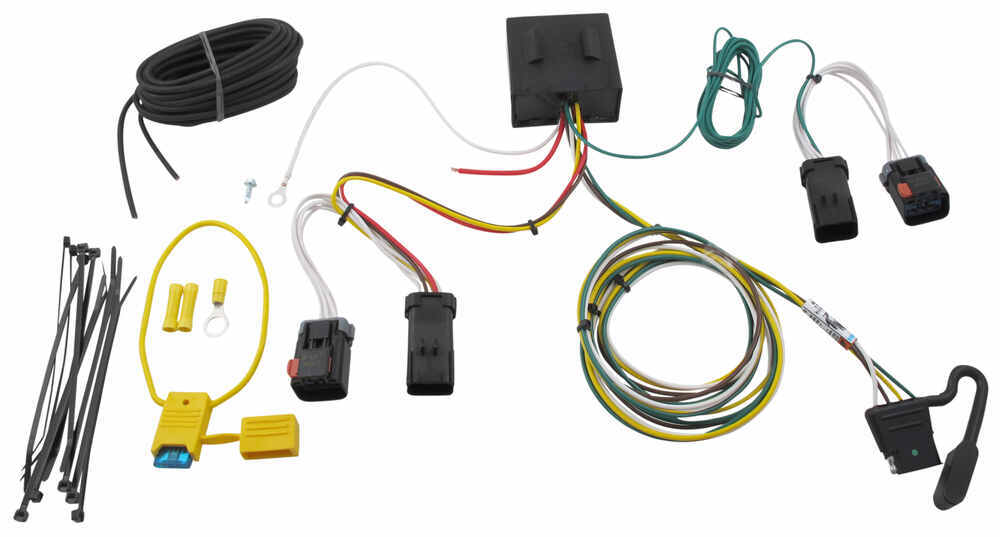 Trailer Wiring Harness Installation 2004 Jeep Liberty : Tow ready custom fit vehicle wiring for jeep liberty