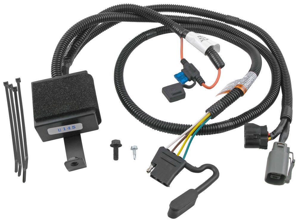 T One Vehicle Wiring Harness for Factory Tow Package 4