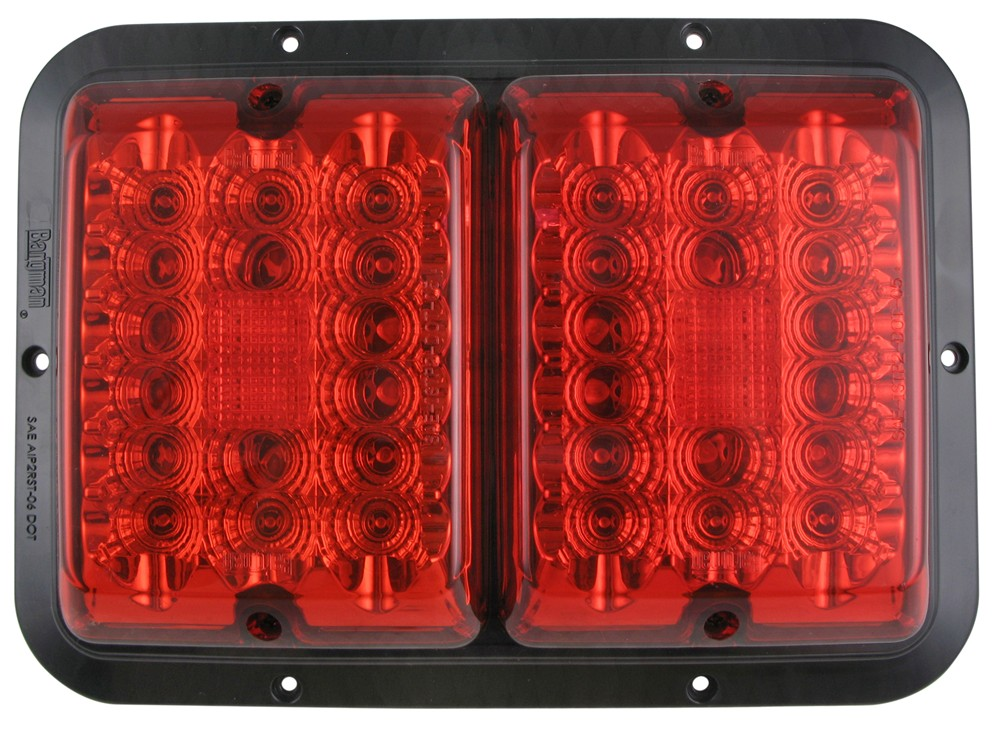 bargman led surface mount double tail light 84 85. Black Bedroom Furniture Sets. Home Design Ideas