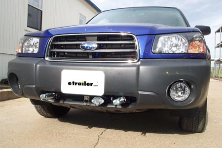 03 05 Could I Mount A Winch On This Subaru Forester