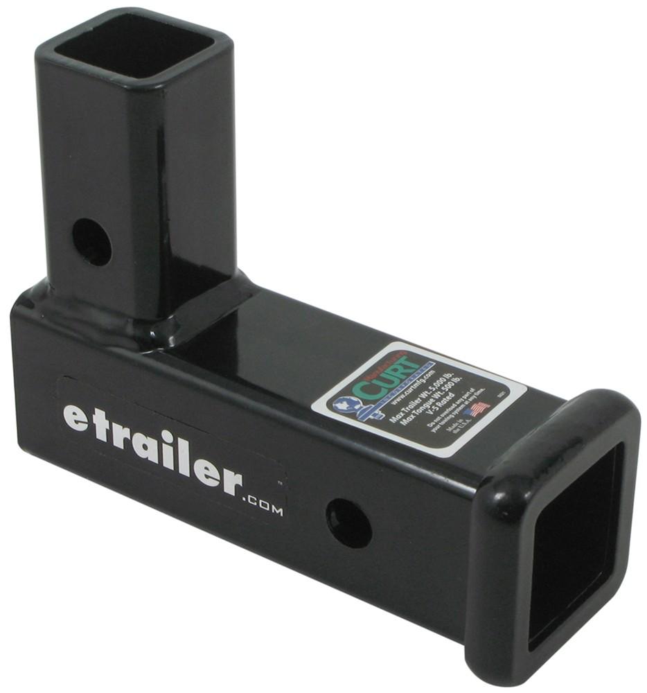 Curt Vertical Receiver Adapter  4 U0026quot  Long  2
