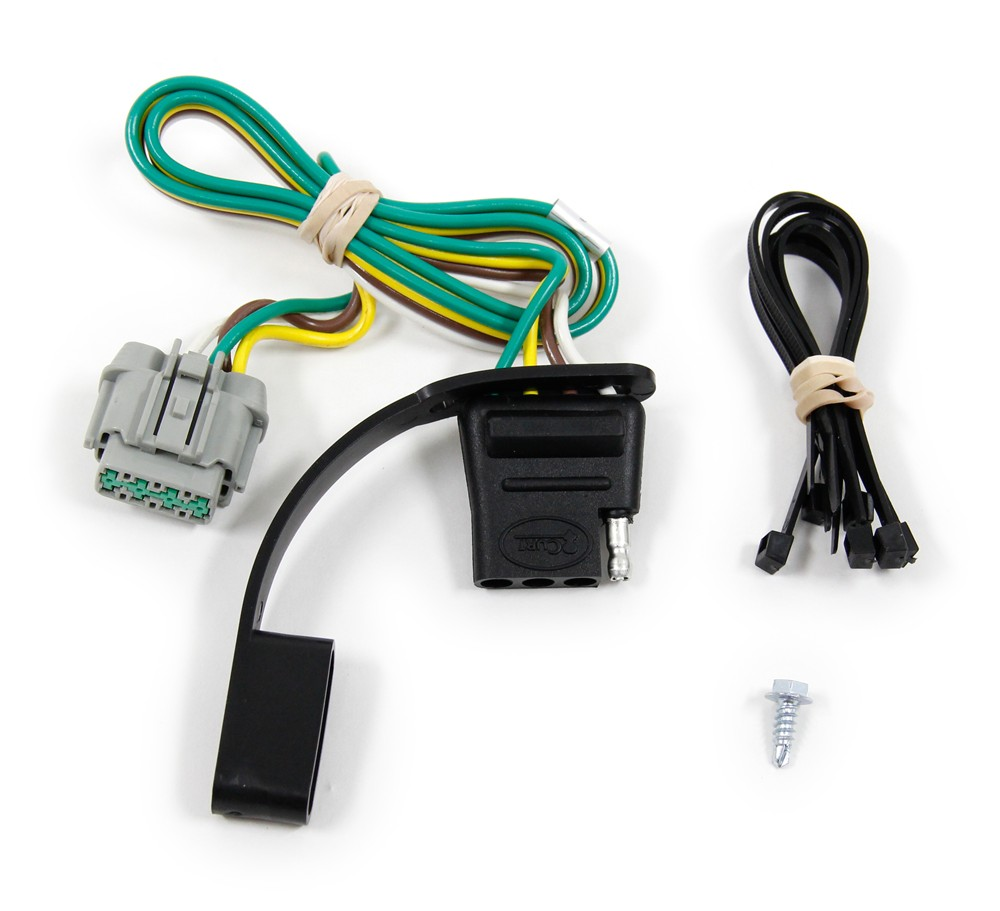 curt custom fit vehicle wiring for nissan pathfinder 2011 c56141