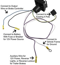 FAQ103_bb_250 routing the power wire for a trailer wiring harness etrailer com Chevy Wiring Harness for 1999 Sierra Door at virtualis.co
