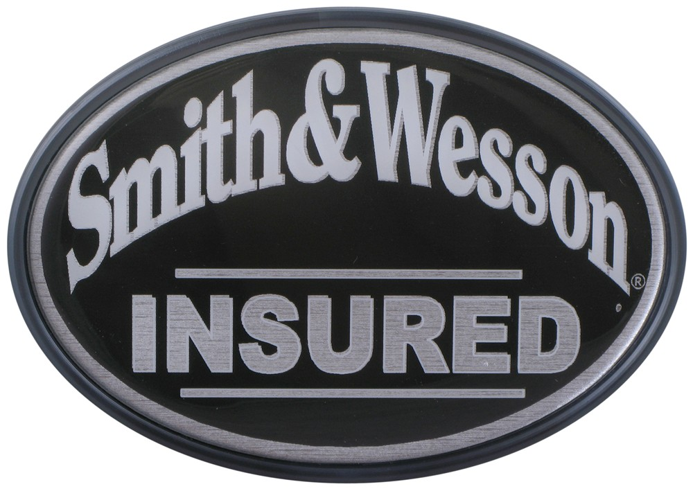 "Smith & Wesson Insured 2"" Trailer Hitch Receiver Cover"