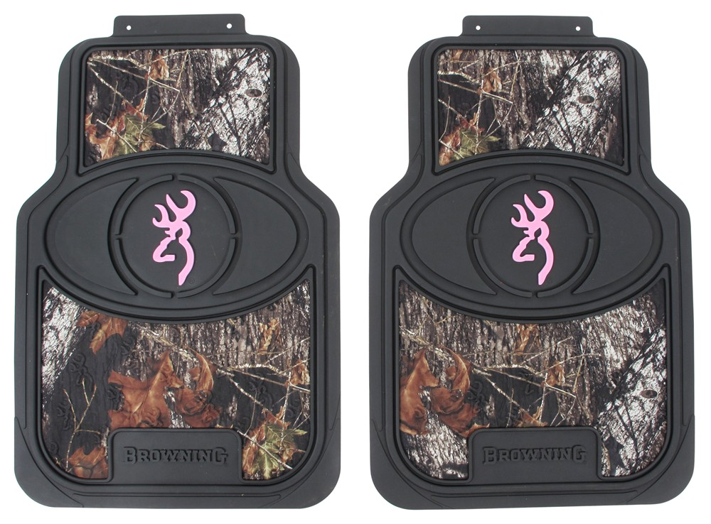 Browning For Her Buckmark Universal Fit Vehicle Floor Mats