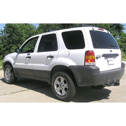 does curt trailer hitch part 13650 extend beyond the rear bumper helpful link · trailer hitch installation 2009 ford escape hybrid