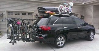 Bike Rack For Trailer Hitch a Hitch Mounted Bike Rack