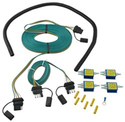 tow bar wiring to flat tow a 1996 geo tracker behind a motor home diode installation instructions for separate tail light systems