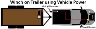 how to wire an electric winch etrailer com rh etrailer com Car Trailer Winch Installation Car Trailer Winch Mount
