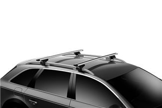 Thule Raised Rails on Vehicle