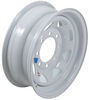 "Dexstar Steel Spoke Trailer Wheel - 16"" x 6"" Rim - 8 on 6-1/2 - White Powder Coat"