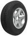 "Karrier ST205/75R14 Radial Trailer Tire with 14"" Aluminum Wheel - 5 on 4-1/2 - Load Range C"