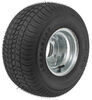 "Kenda 215/60-8 Bias Trailer Tire with 8"" Galvanized Wheel - 5 on 4-1/2 - Load Range D"