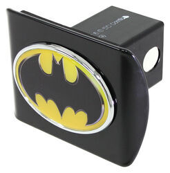 "Batman Logo Trailer Hitch Receiver Cover - 2"" Hitches - Color Emblem"