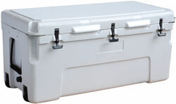 Bulldog Winch Sportsman Cooler - 105.6 Qts - White