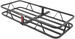"17x46 Curt Cargo Carrier for 1-1/4"" and 2"" Hitches - Steel - 500 lbs"