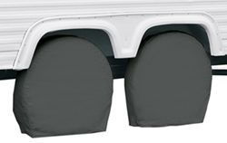 "Classic Accessories RV Wheel Covers - 26-3/4"" to 29"" - Gray"