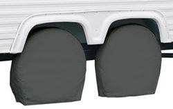 "Classic Accessories RV Wheel Covers - 29"" to 31-3/4"" - Gray"