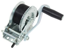 "Fulton Single Speed Winch - 7"" Long Handle, 20' Strap - 1,100 lbs"